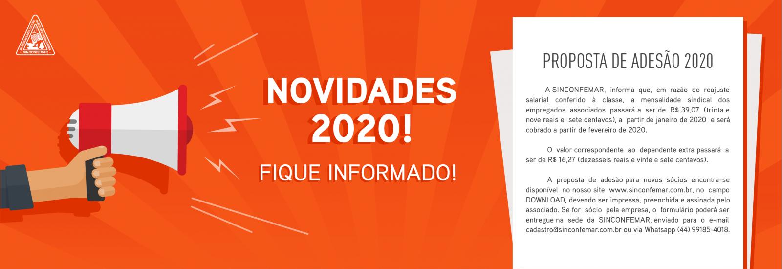 Proposta de adesão 2020